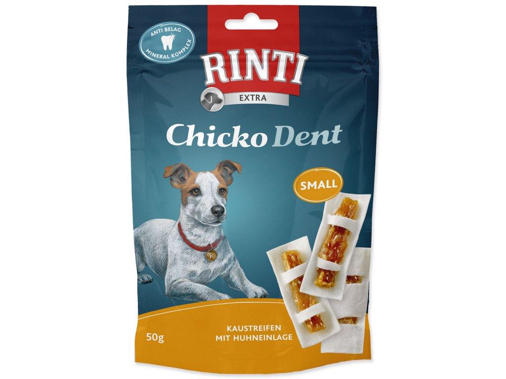 Pochoutka RINTI Chicko Dent Small kuře