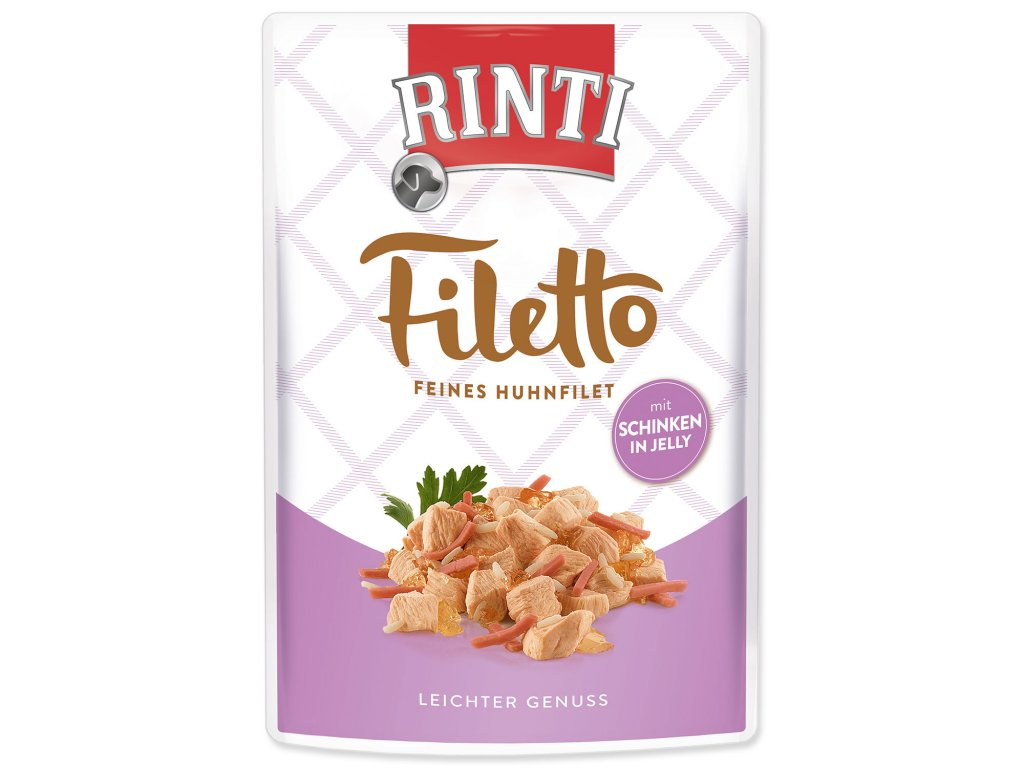 Kapsička RINTI Filetto kuře + šunka v želé