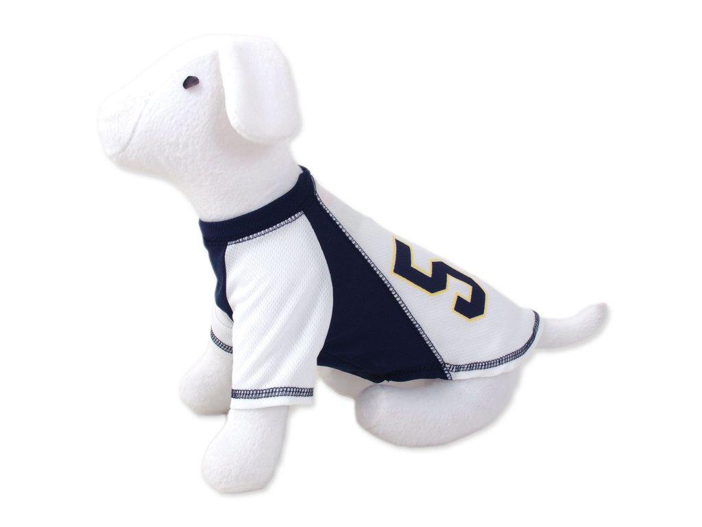 Triko DOG FANTASY Sport 57 bílo-modré XS