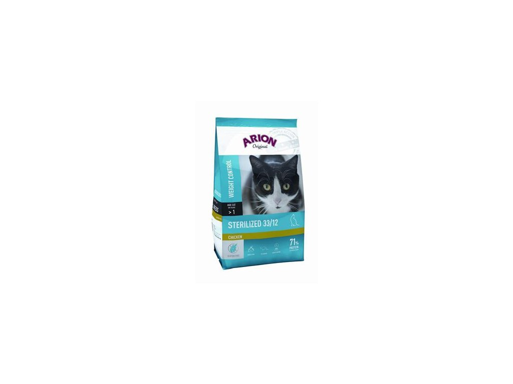 Arion Cat Original Sterilized Chicken 7,5kg