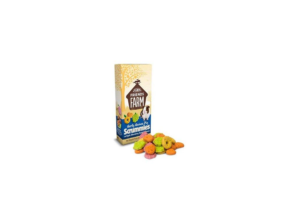 Supreme Tiny Farm Snack Gerty Scrummies morče 120g