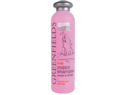 Greenfields šampon puppy a kitten 200 ml