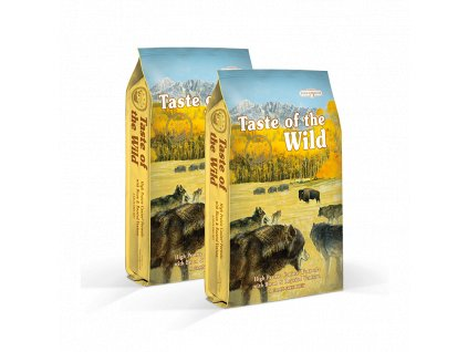 dvojbaleni taste of the wild high prairie 2x13 kg
