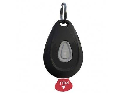 ZeroBugs Ultrazvukový odpuzovač klíšťat a blech, černý