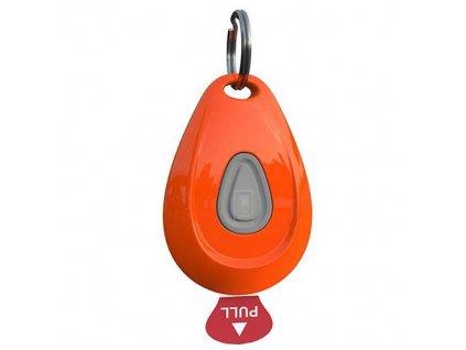 ZeroBugs Ultrazvukový odpuzovač klíšťat a blech, oranžový