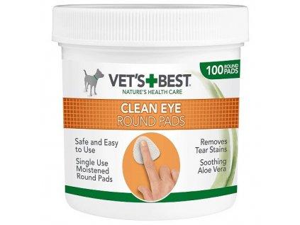 VET´S BEST Čisticí utěrka na oči pro psy, 100ks