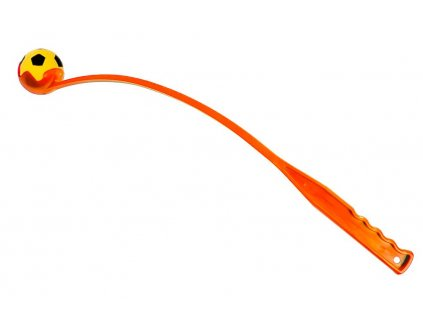 Karlie-Flamingo vrhač míčků, oranžový, 64cm