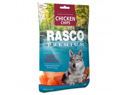 Pochoutka RASCO Premium plátky s kuřecím masem