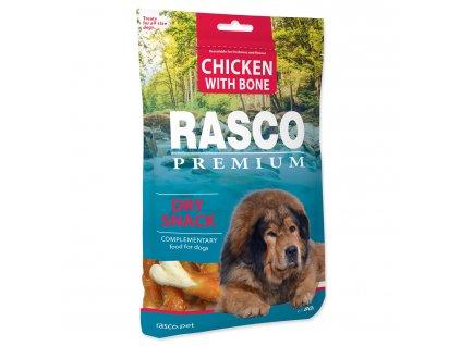 Pochoutka RASCO Premium kosti obalené kuřecím masem