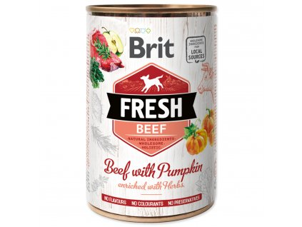 BRIT Fresh Beef with Pumpkin