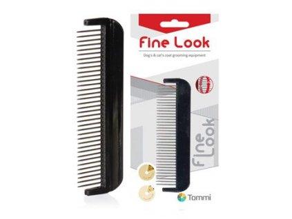 Hřeben Fine Look otočné zuby 13 cm