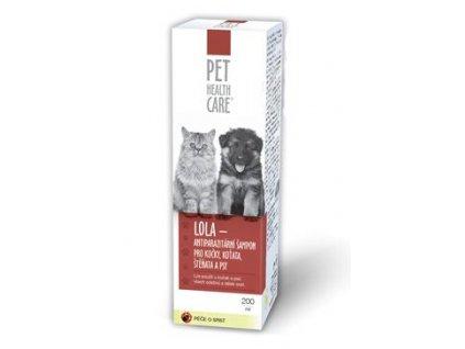Šampon LOLA antiparazit. pro psy a kočky 200ml PHC