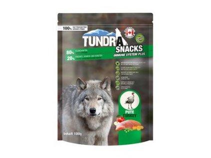 TUNDRA dog snack Turkey Immune Systeme 100g