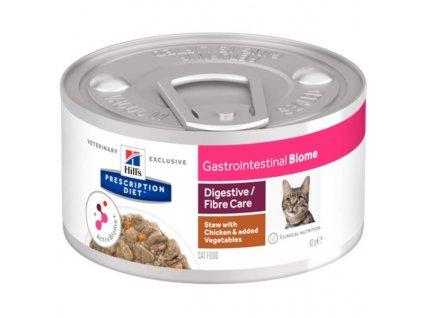 Hill's PD Feline Biome Stew Gastrointestinal konz. masové kousky 82 g
