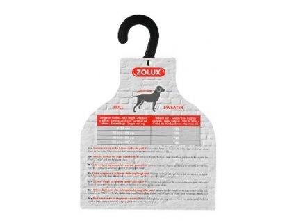 Ramínko na svetr Velikostní tabulka na prodejnu Zolux