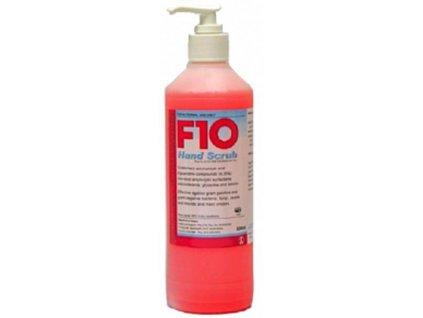 F10 dezinfekční mýdlo Scrub 500ml