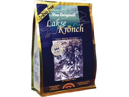 Kronch Dog Treat 100% losos 600 g