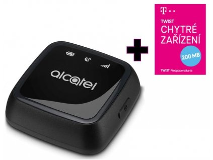 Alcatel MOVETRACK Bag verze černá/modrá