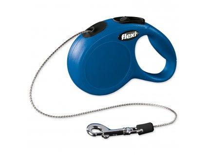 Vodítko FLEXI Classic New lanko modré XS - 3 m
