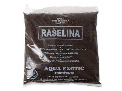 Náplň rašelina vláknitá AQUA EXOTIC