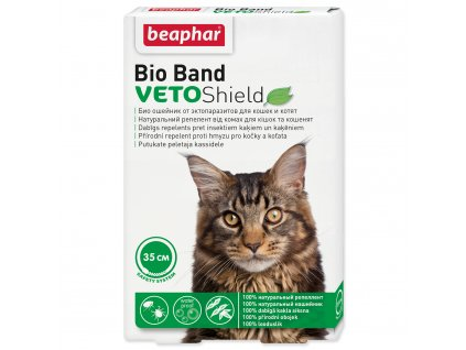 Obojek repelentní BEAPHAR Bio Band Veto Shield 35 cm