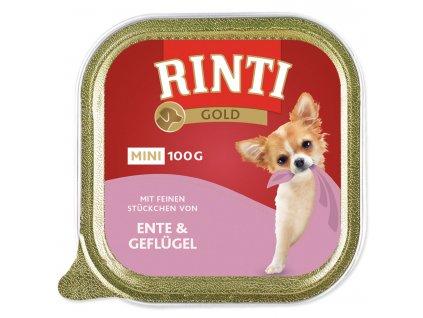 Vanička RINTI Gold Mini kachna + drůbež