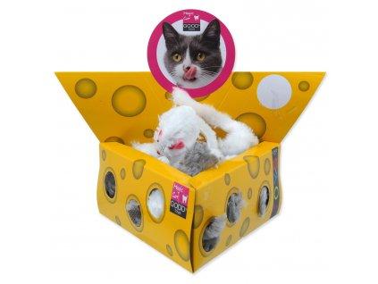 Hračka MAGIC CAT myšky v trojúhelníku 5 cm