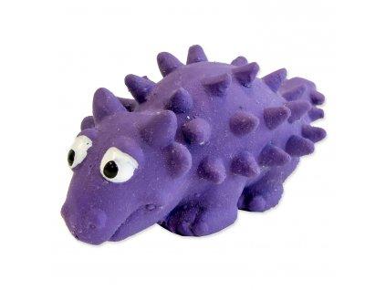 Hračka DOG FANTASY Latex dinosarus se zvukem mix 6-8 cm