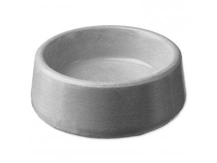 Miska BE-MI betonová kulatá 8 cm