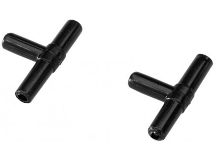 Rozdvojka na vzduchovací hadičku T 4/6mm 2ks Duvo+
