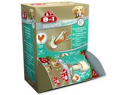 Kosti 8in1 Dental Delights žvýkací XS box
