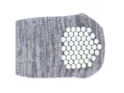 Ponožky TRIXIE protiskluzové šedé XS-S
