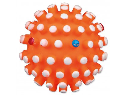 Hračka TRIXIE míček s bodlinami vinylový 7 cm