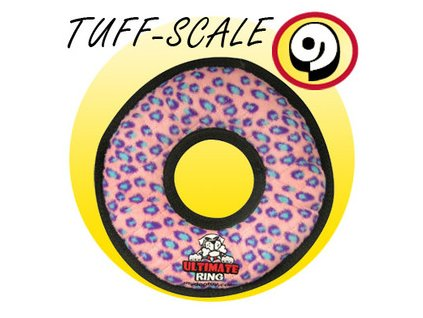 TUFFY Ultimates Ring Pink Leopard