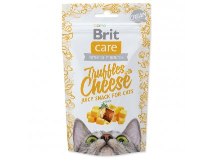 BRIT Care Cat Snack Truffles Cheese