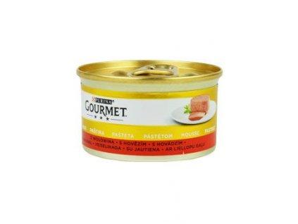 Gourmet Gold konz. kočka pašt. s hovězím 85g