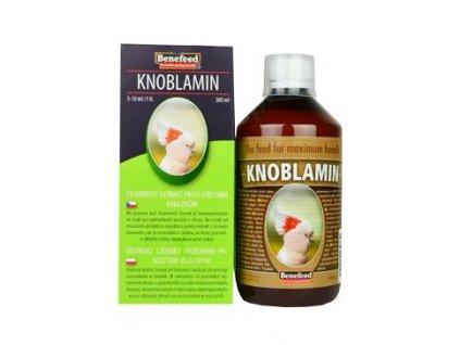 Knoblamin E pro exoty česnekový olej 500ml