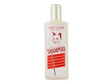 Gottlieb šampon s nork. olejem 300ml kočka