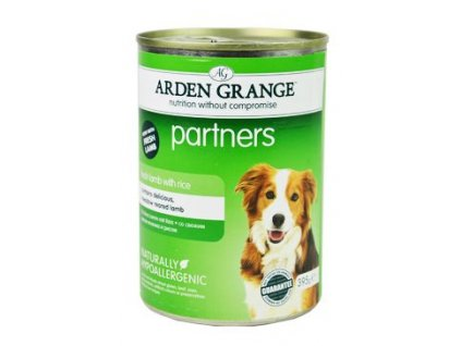 Arden Grange Partners Dog Lamb Rice konz.  395g