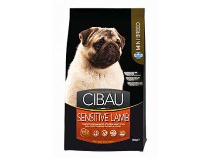 CIBAU Adult Sensitive Lamb&Rice Mini 800g