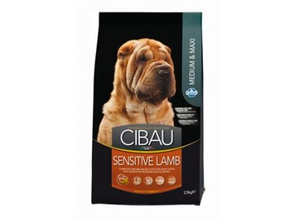 CIBAU Adult Sensitive Lamb&Rice 2,5kg