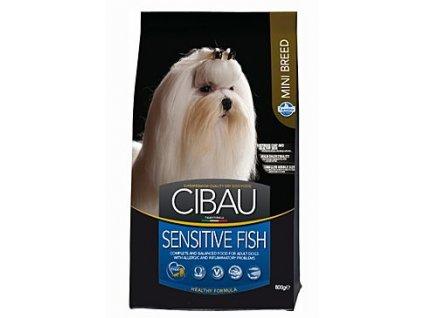 CIBAU Adult Sensitive Fish&Rice Mini 800g