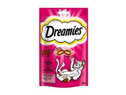 Dreamies kočka pochoutka s hovězím 60g