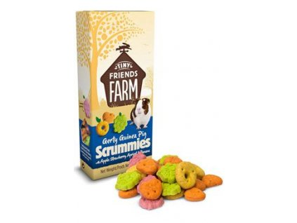 Supreme Tiny Farm Snack Gerty Scrummies morče 120g