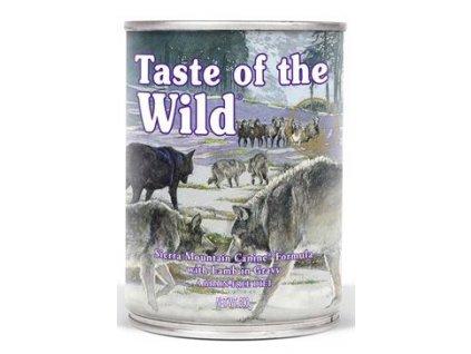 Taste of the Wild konzerva Sierra Mountain 390g