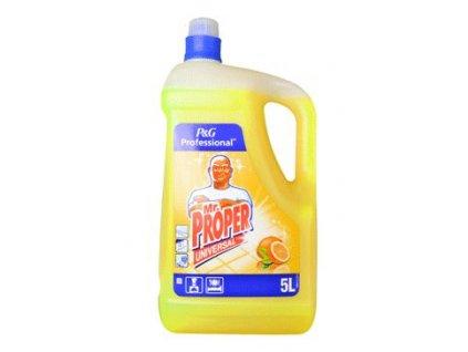 Čistič pro domácnost Mr. Proper univer. Citron 5l
