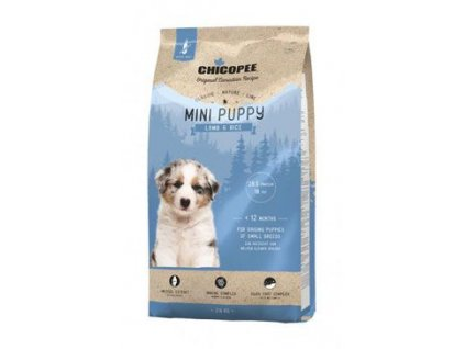Chicopee Classic Nature Mini Puppy Lamb-Rice 500g