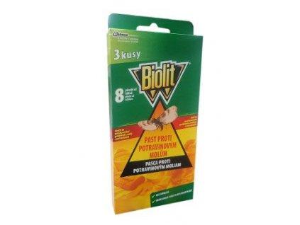 Biolit past proti potravinovým molům 3ks