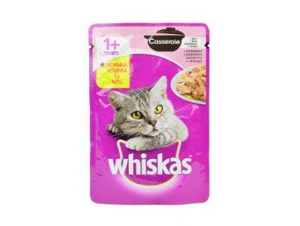Whiskas kapsa Casserole losos 85g