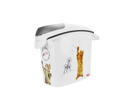 Curver kontejner na suché krmivo 6kg 15l kočka